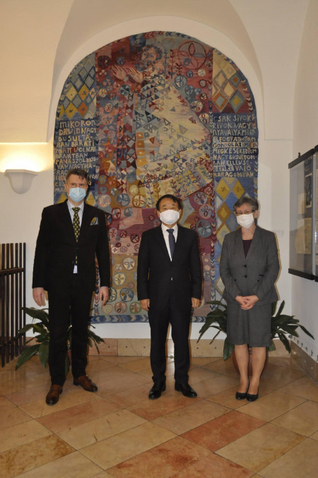 Visit of the Ambassador of South Korea